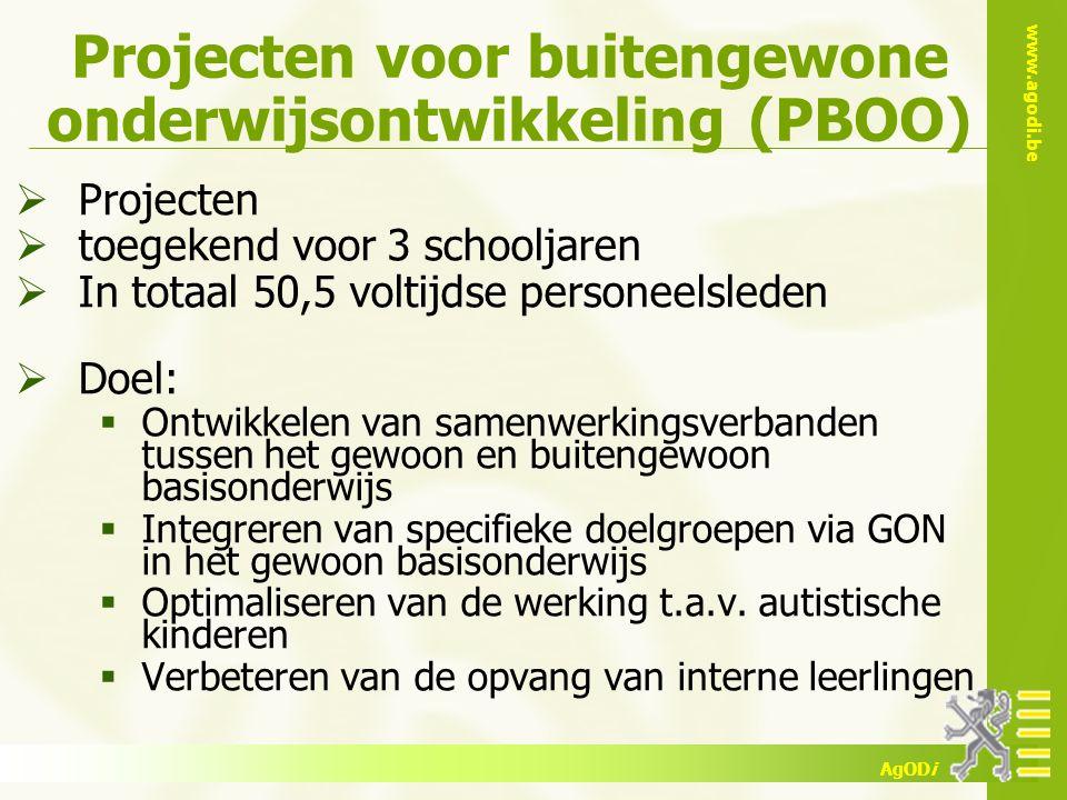 Projecten voor buitengewone onderwijsontwikkeling (PBOO)