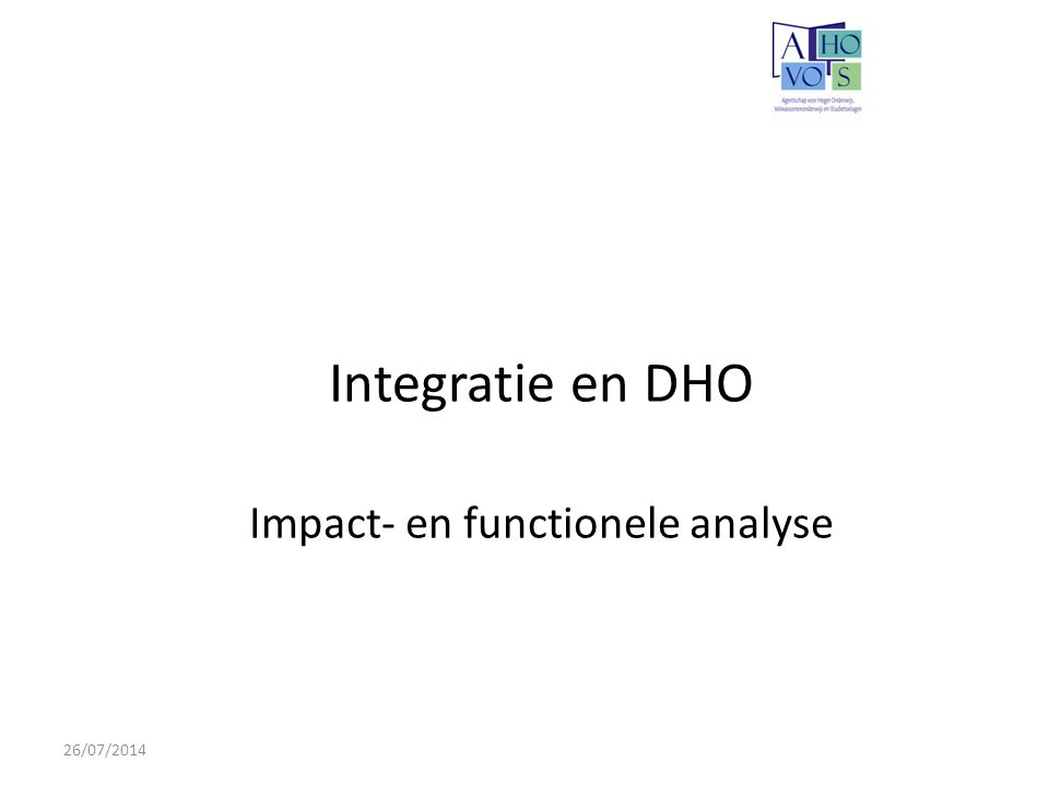 Impact- en functionele analyse