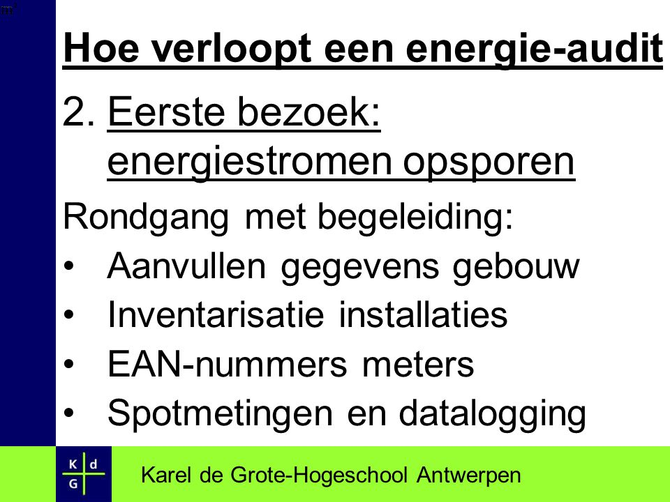 Hoe verloopt een energie-audit