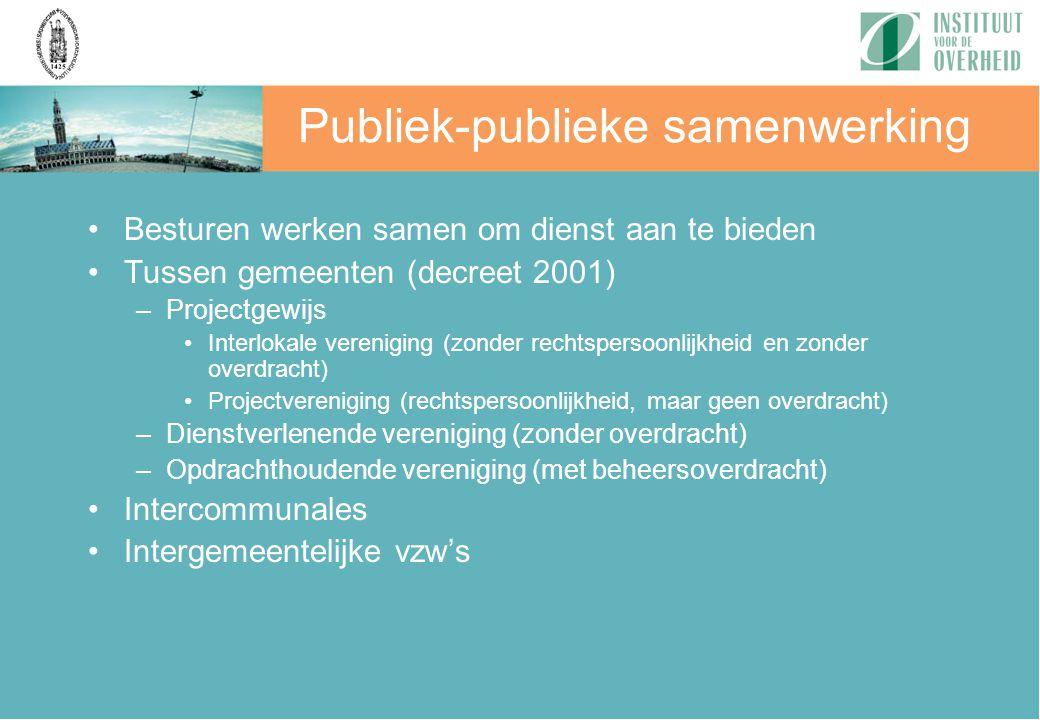 Publiek-publieke samenwerking