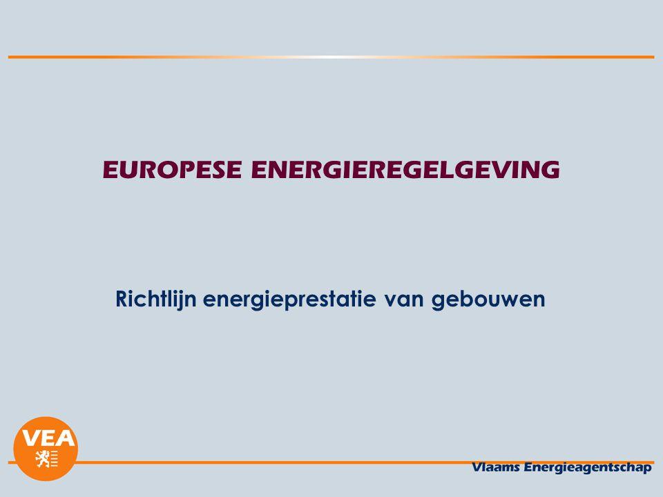 EUROPESE ENERGIEREGELGEVING