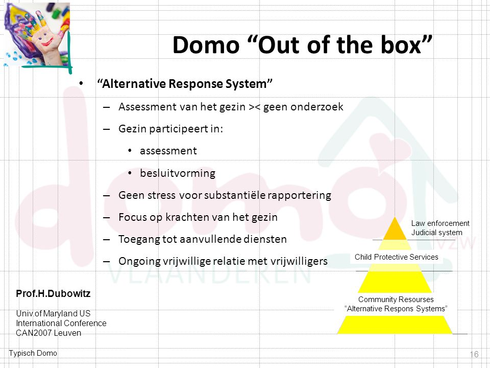 Domo Out of the box Alternative Response System