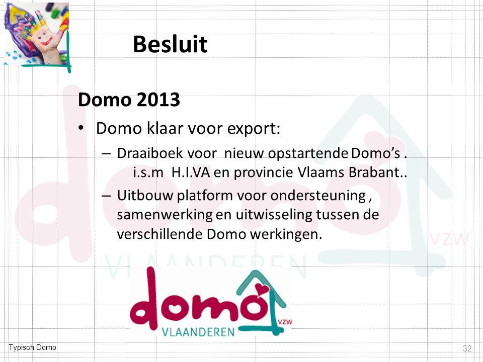 Besluit Domo 2013 Domo klaar voor export: