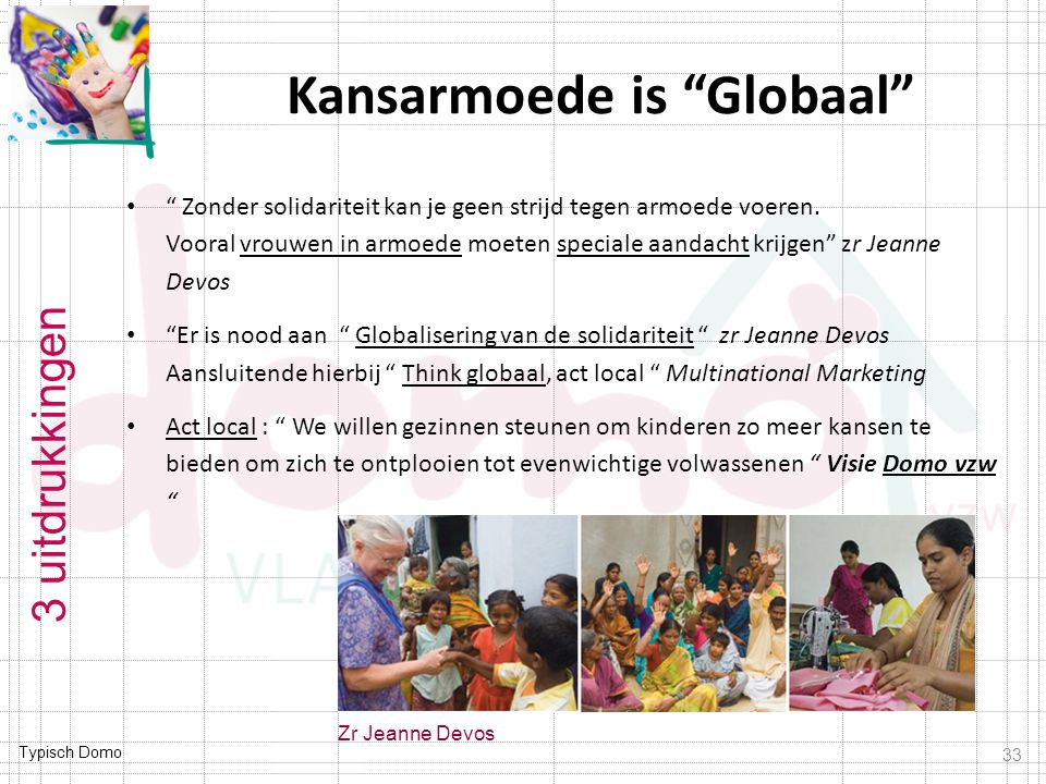 Kansarmoede is Globaal