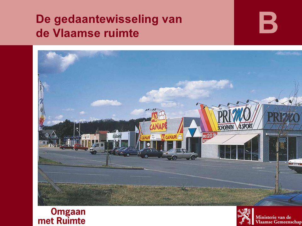 B De gedaantewisseling van de Vlaamse ruimte