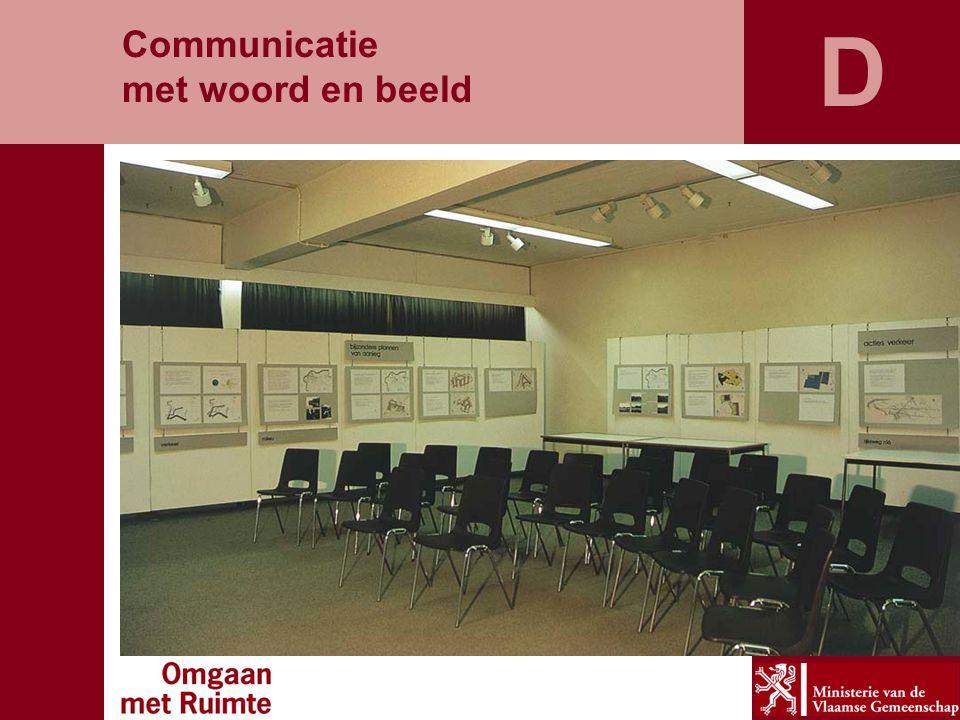D Communicatie met woord en beeld