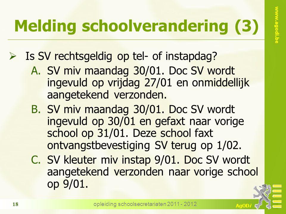 Melding schoolverandering (3)