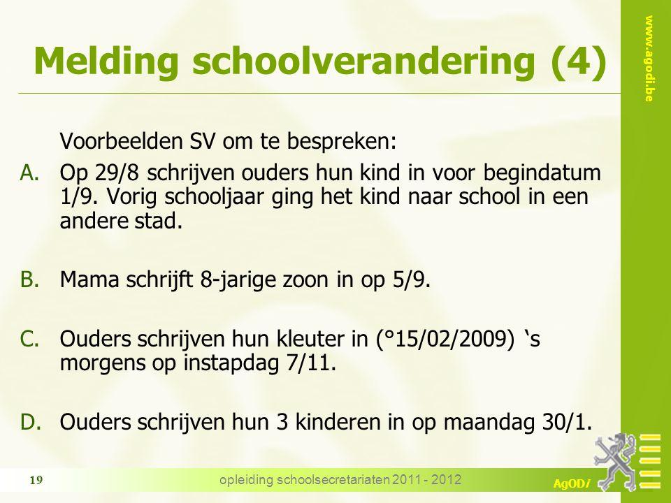 Melding schoolverandering (4)