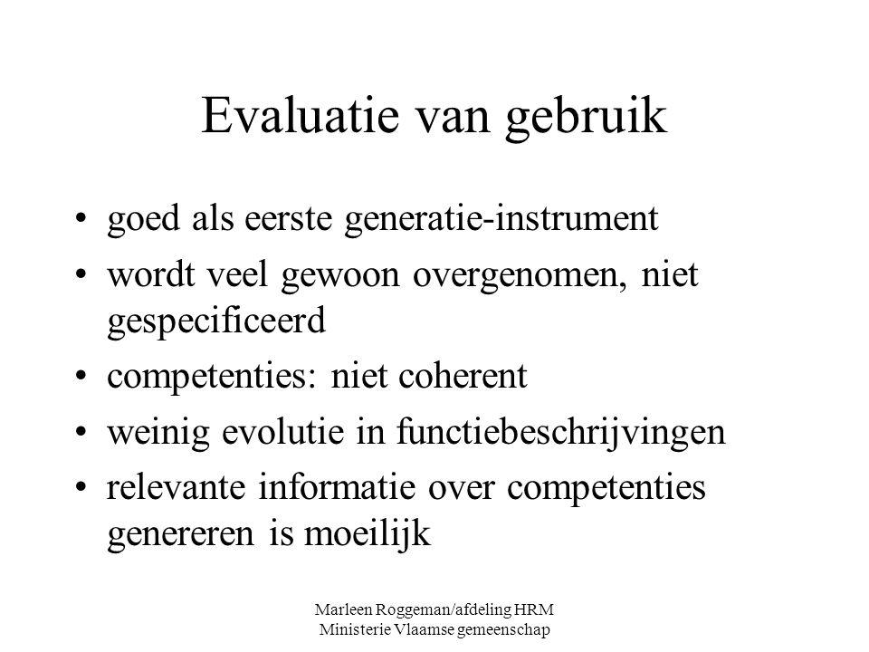 Marleen Roggeman/afdeling HRM Ministerie Vlaamse gemeenschap