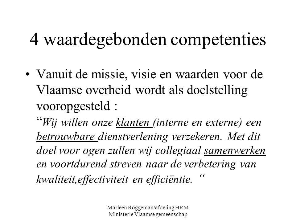 4 waardegebonden competenties