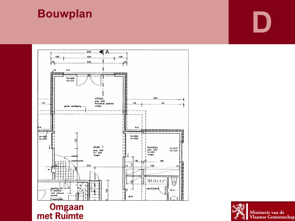 D Bouwplan