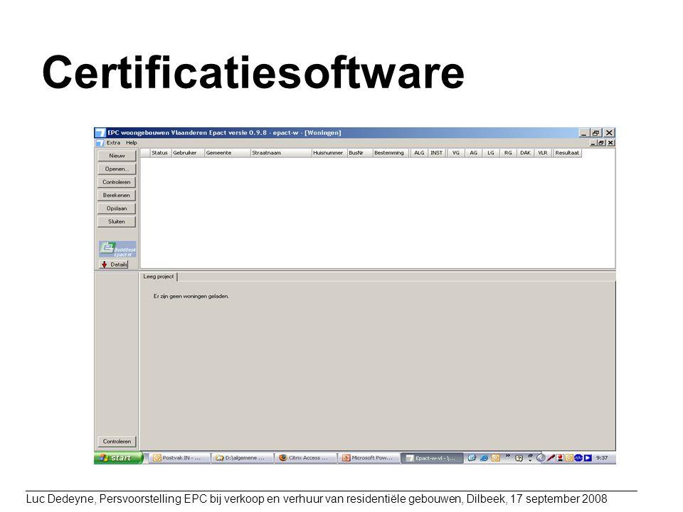 Certificatiesoftware