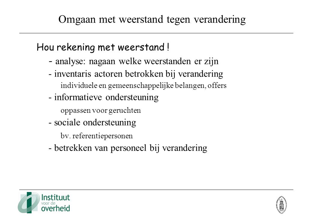 thesis veranderingsmanagement