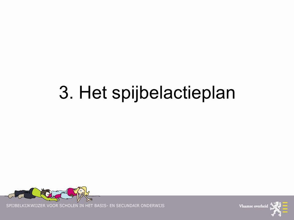 3. Het spijbelactieplan