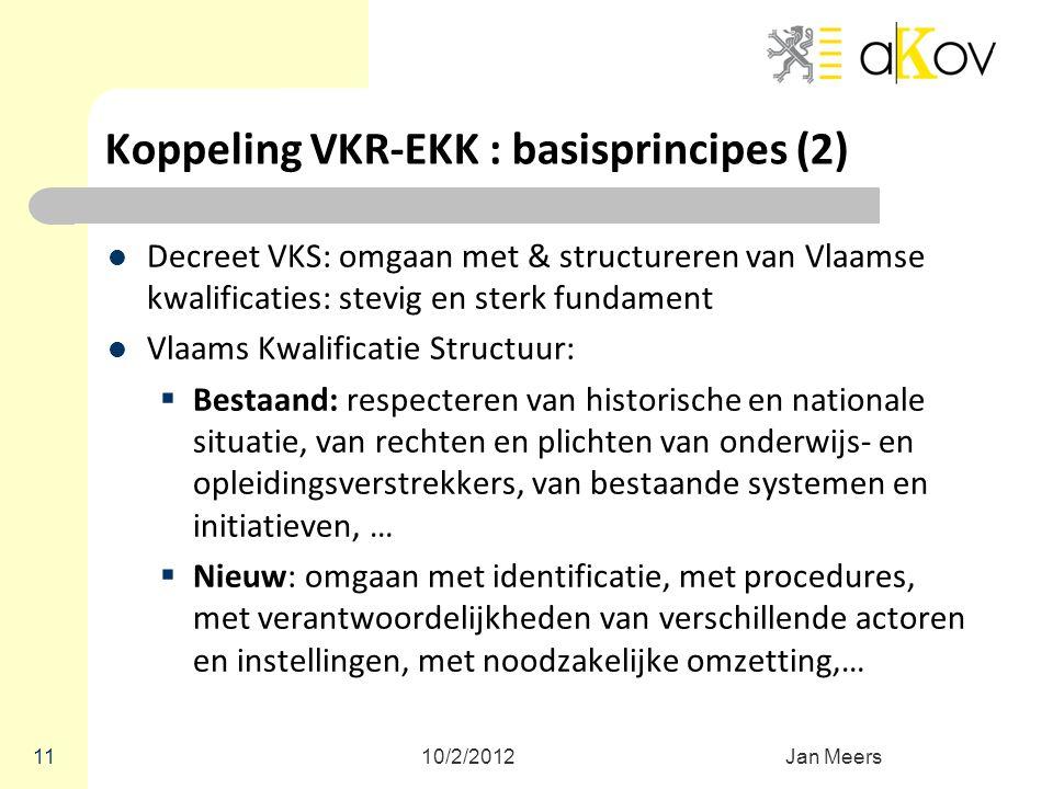 Koppeling VKR-EKK : basisprincipes (2)
