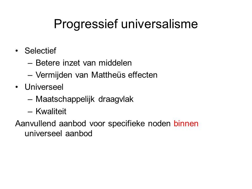 Progressief universalisme