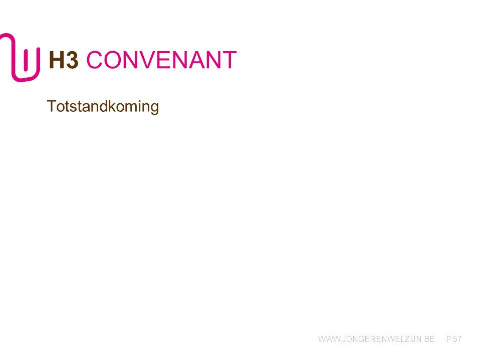 H3 CONVENANT Totstandkoming