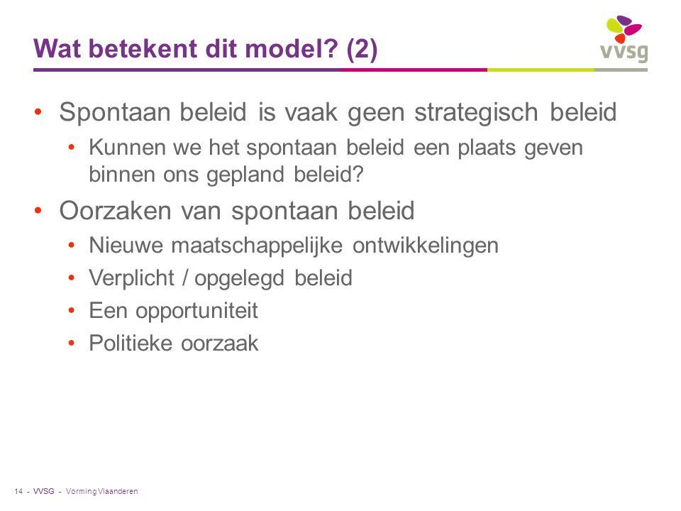 Wat betekent dit model (2)
