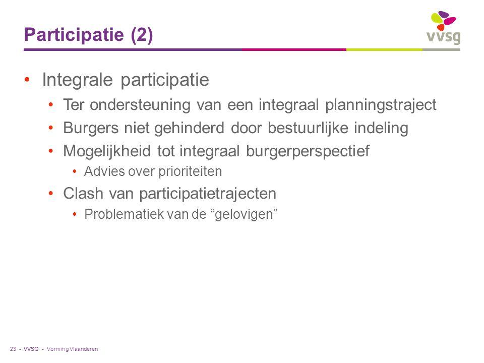 Integrale participatie