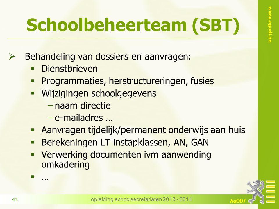 Schoolbeheerteam (SBT)