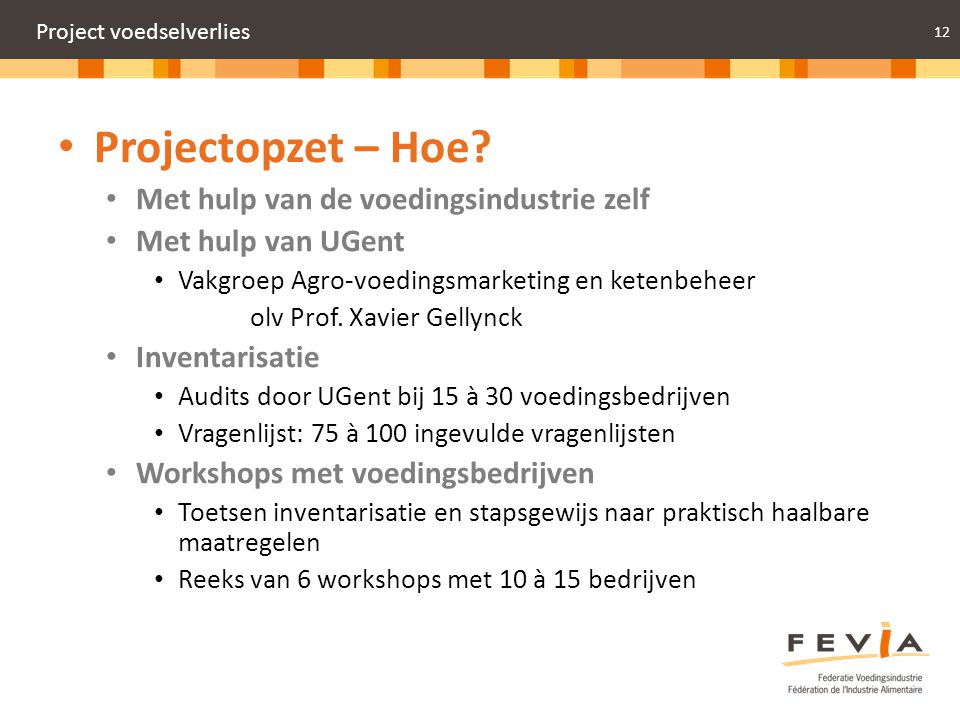 Project voedselverlies