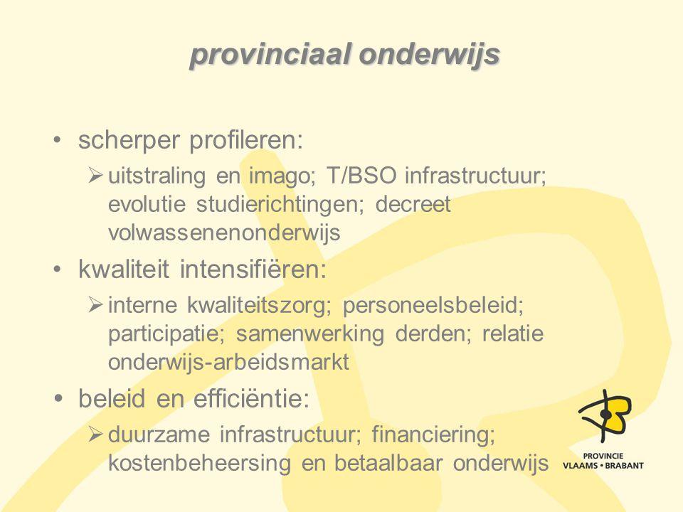 provinciaal onderwijs