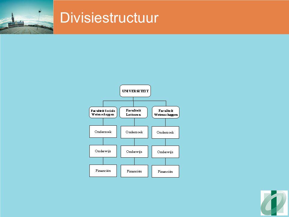 Divisiestructuur