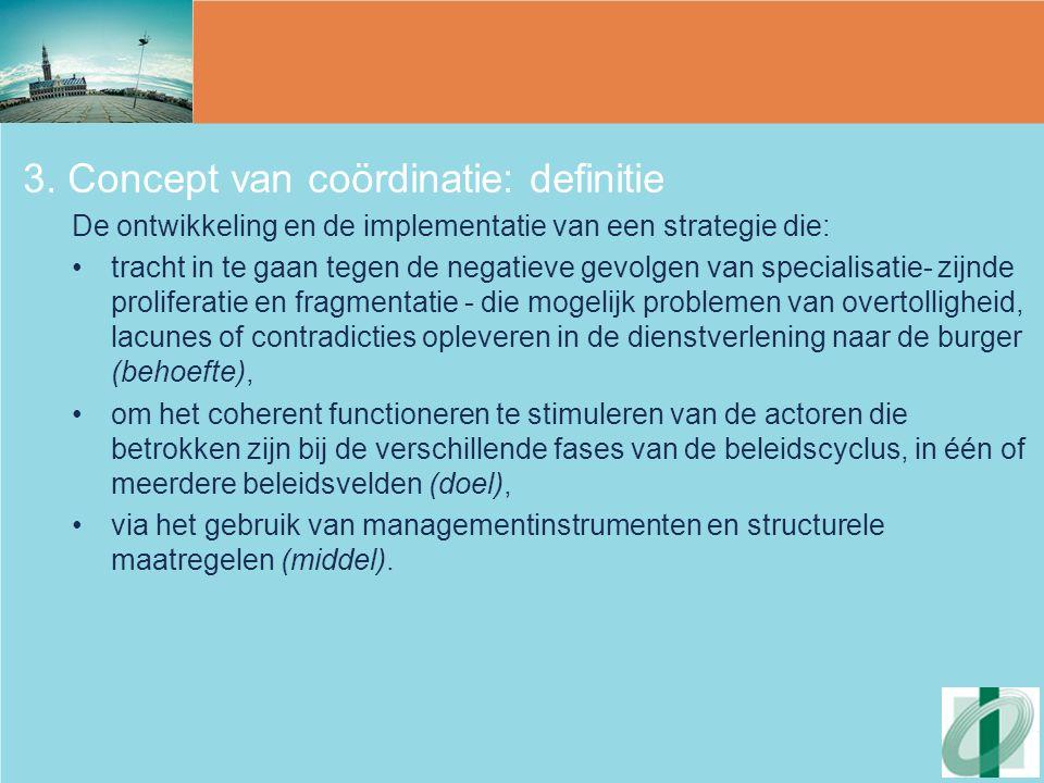 3. Concept van coördinatie: definitie