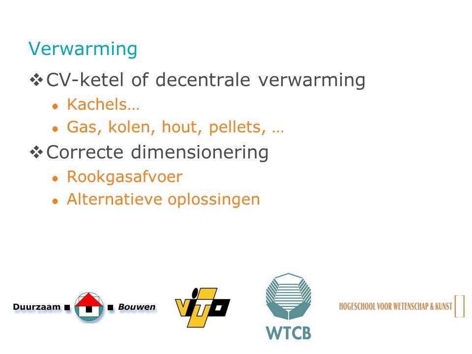 CV-ketel of decentrale verwarming