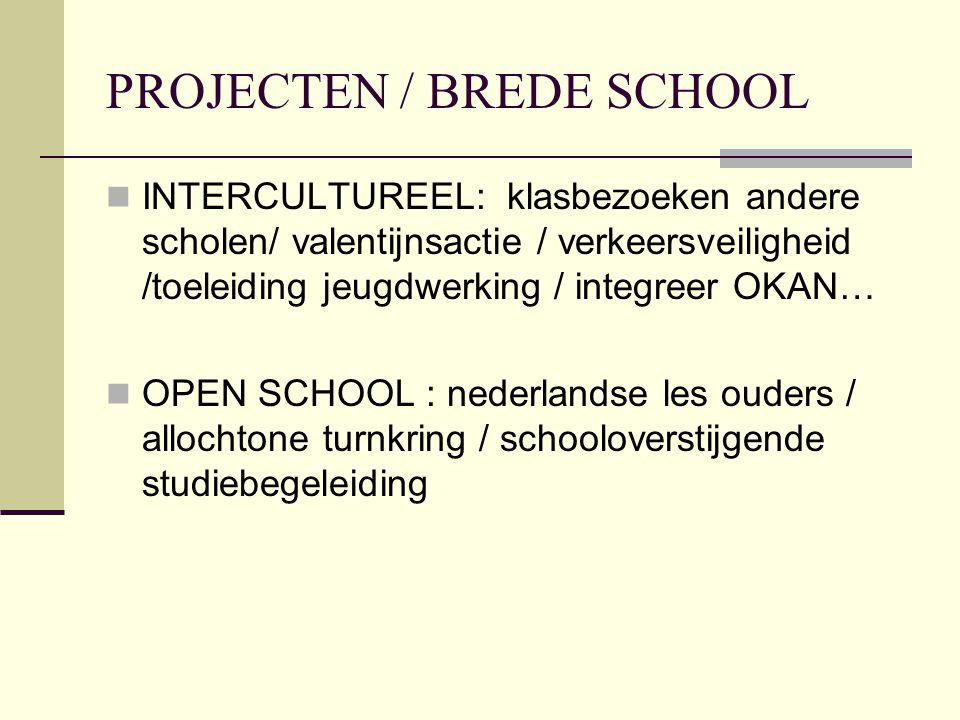 PROJECTEN / BREDE SCHOOL