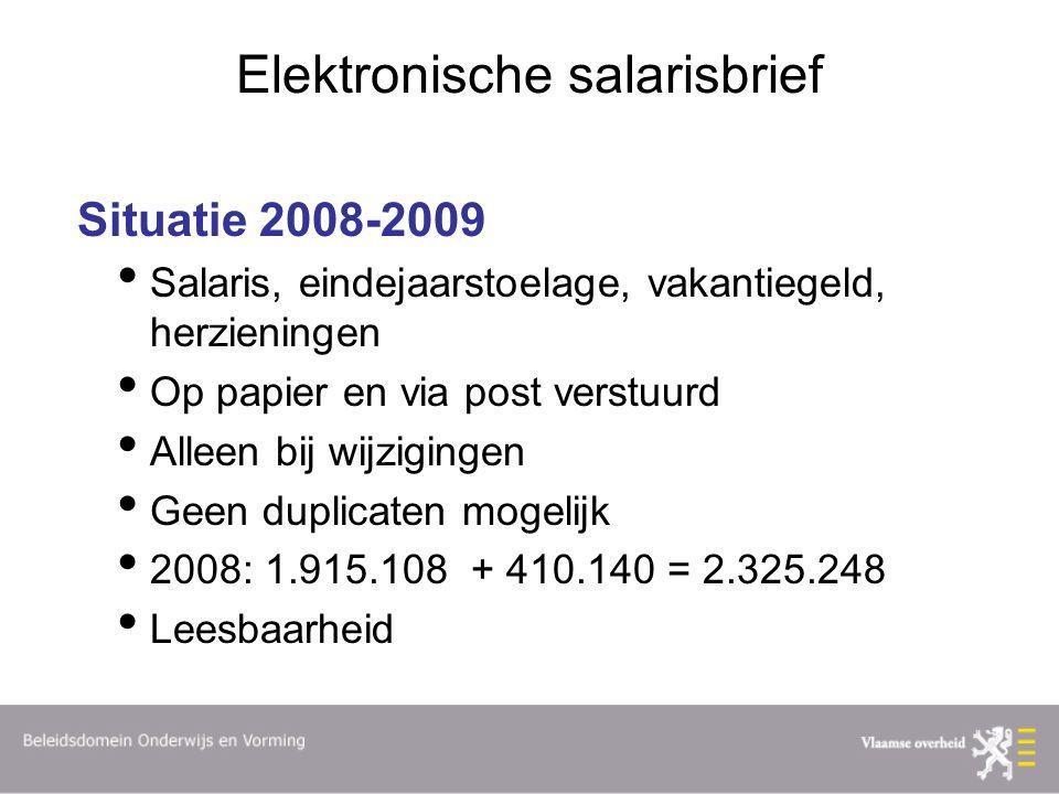 Elektronische salarisbrief