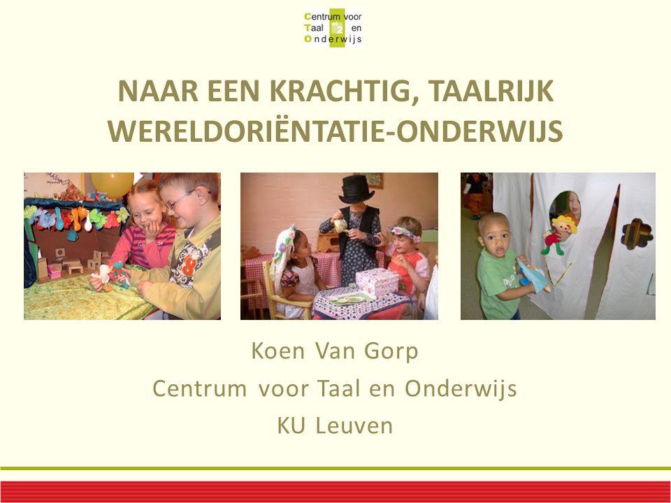 Naar een krachtig, taalrijk WereldOriëntatie-onderwijs