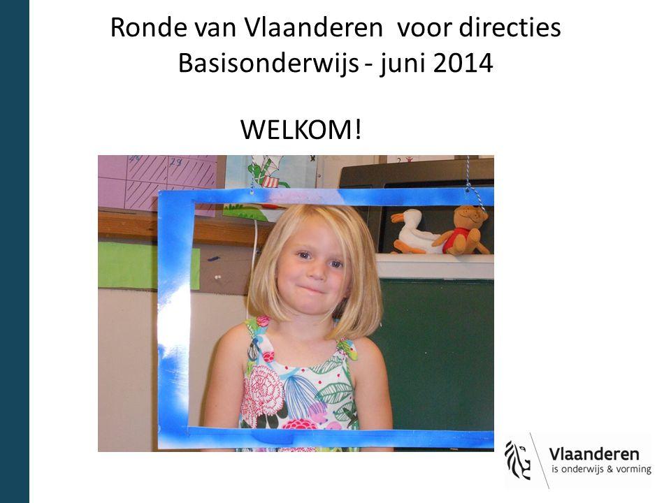 Ronde van Vlaanderen voor directies Basisonderwijs - juni 2014