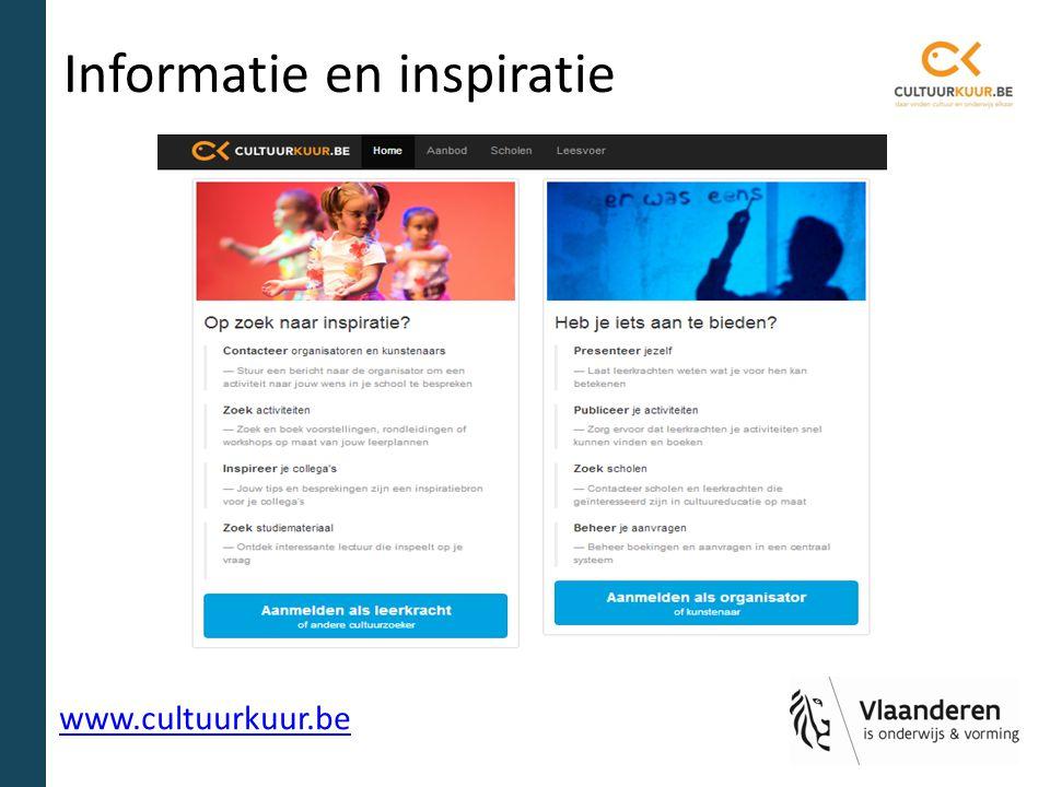 Informatie en inspiratie