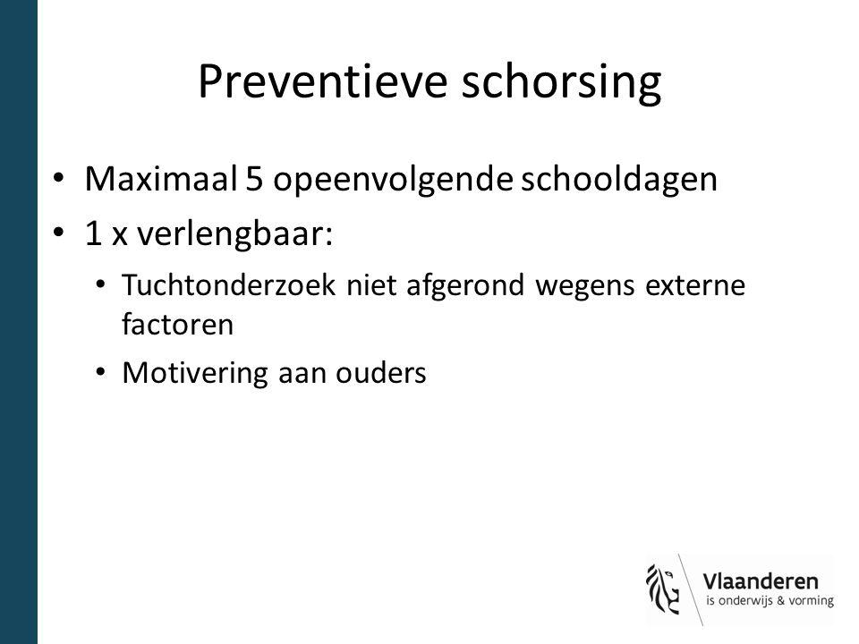 Preventieve schorsing