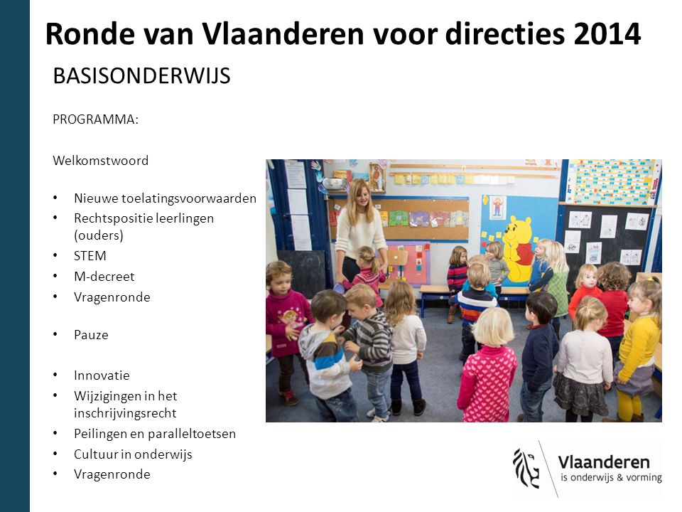 Ronde van Vlaanderen voor directies 2014