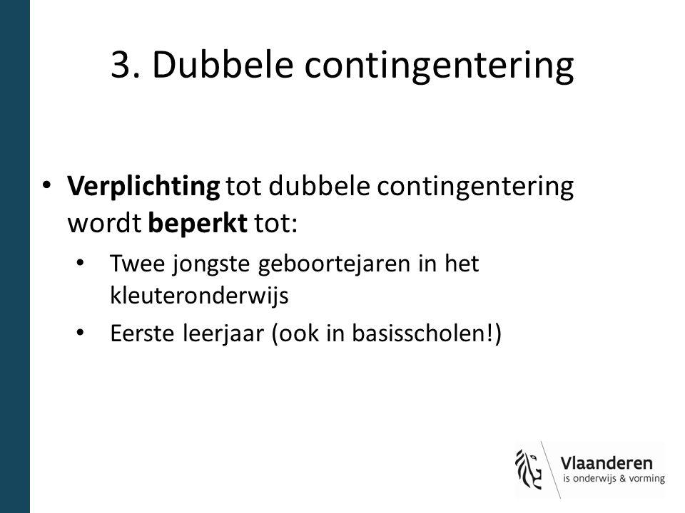 3. Dubbele contingentering