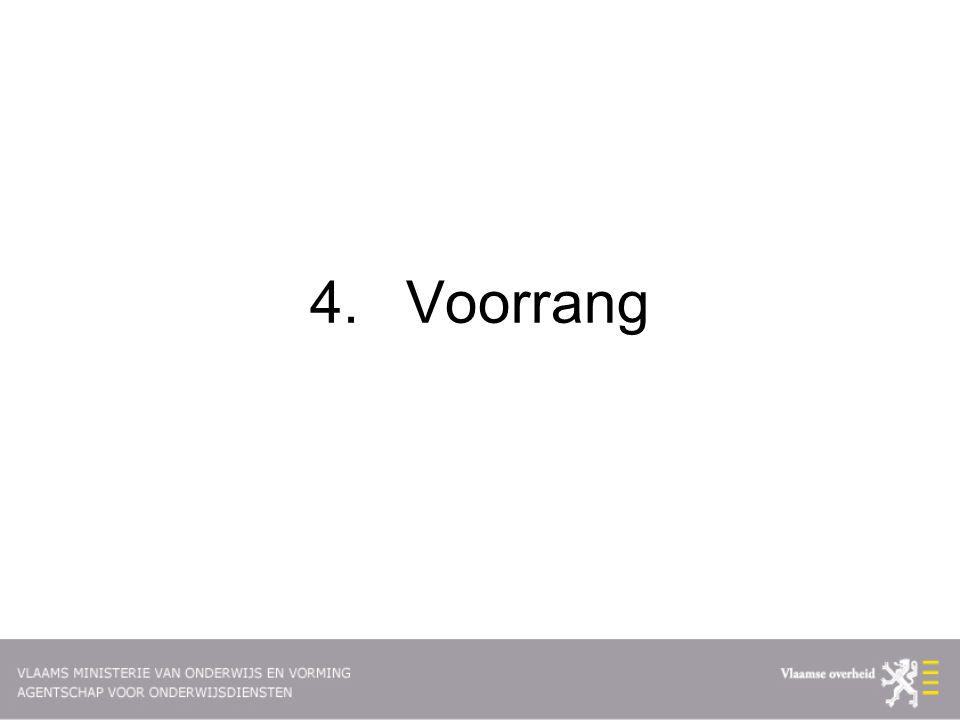 4. Voorrang