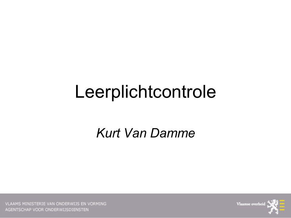 Leerplichtcontrole Kurt Van Damme