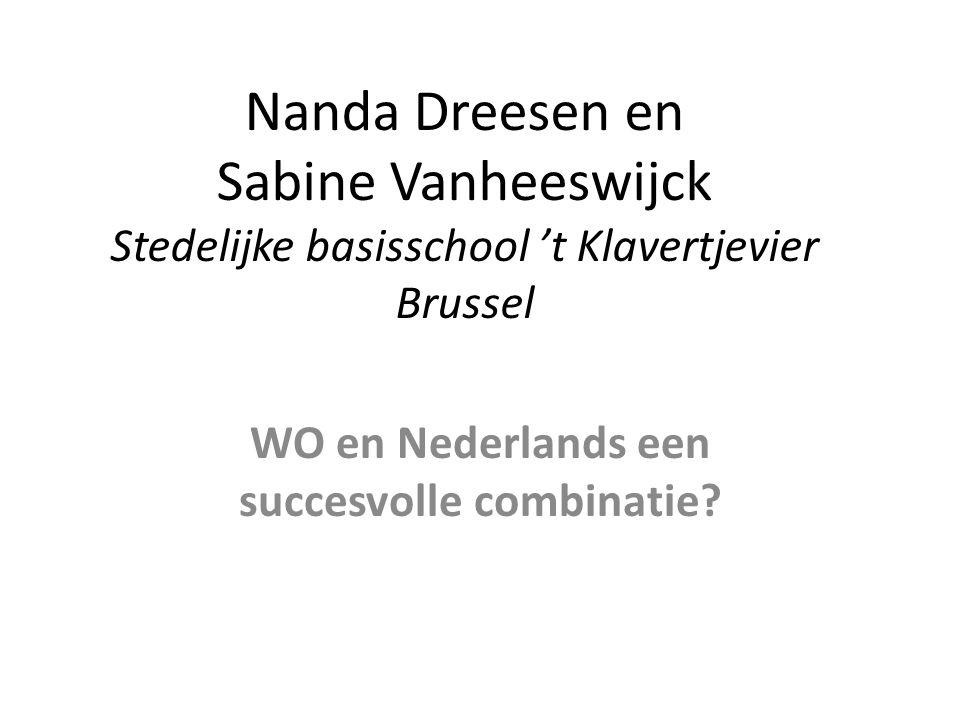 WO en Nederlands een succesvolle combinatie