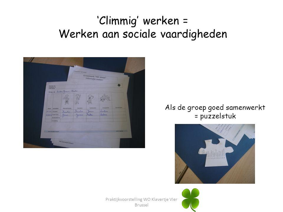 Werken aan sociale vaardigheden
