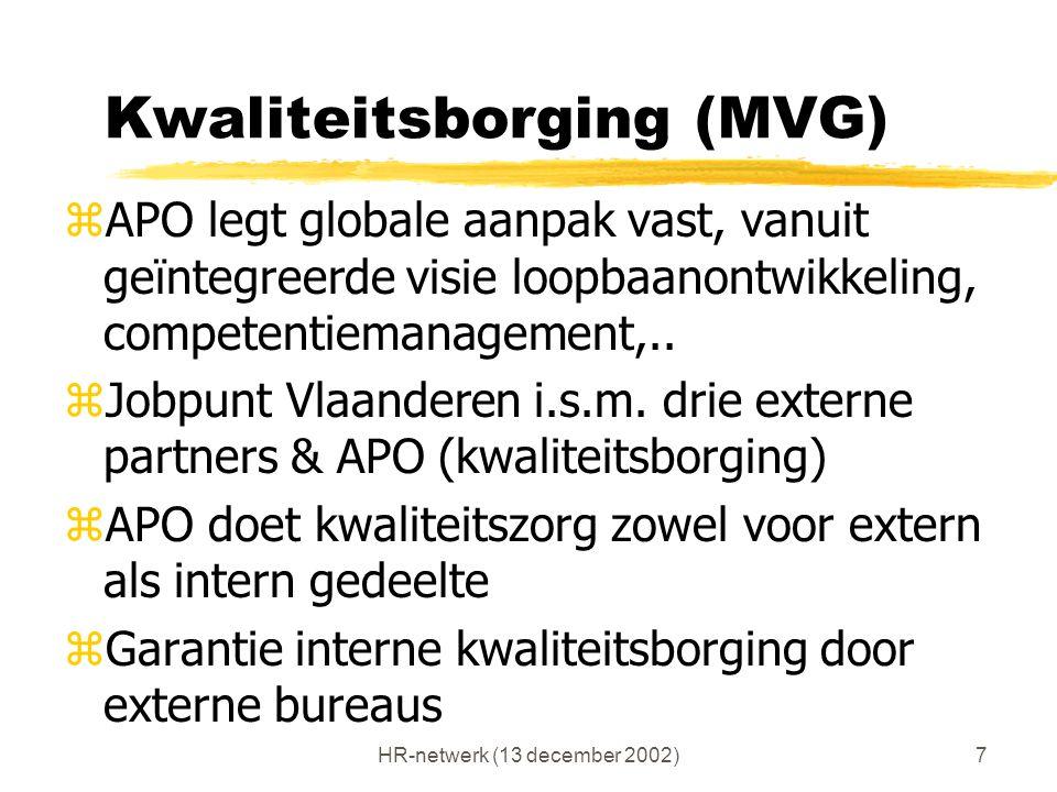 Kwaliteitsborging (MVG)