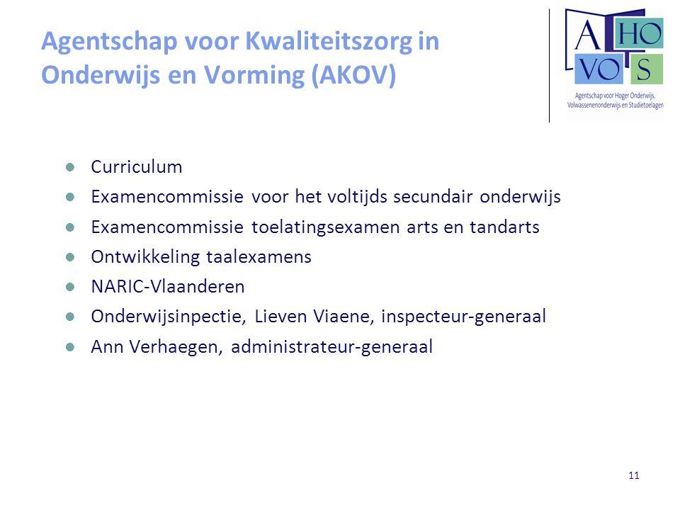 Agentschap voor Kwaliteitszorg in Onderwijs en Vorming (AKOV)