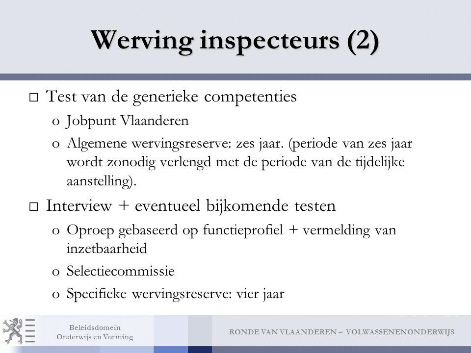 Werving inspecteurs (2)