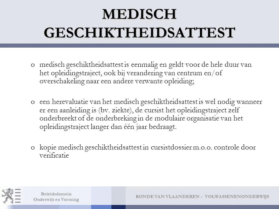 MEDISCH GESCHIKTHEIDSATTEST