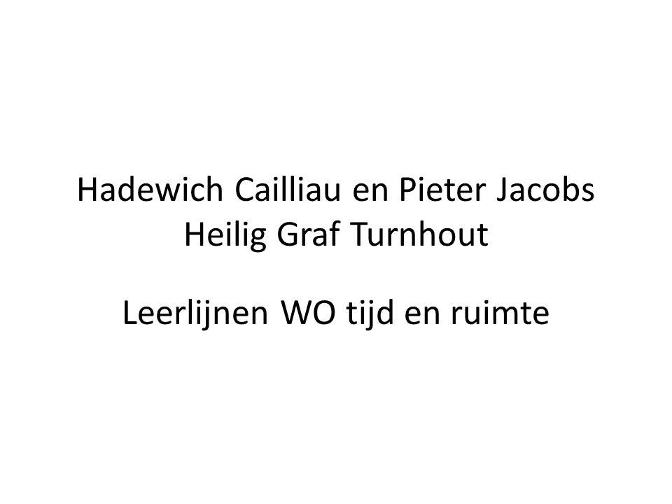 Hadewich Cailliau en Pieter Jacobs Heilig Graf Turnhout