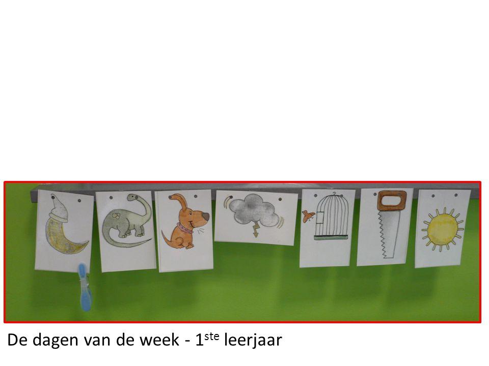 De dagen van de week - 1ste leerjaar