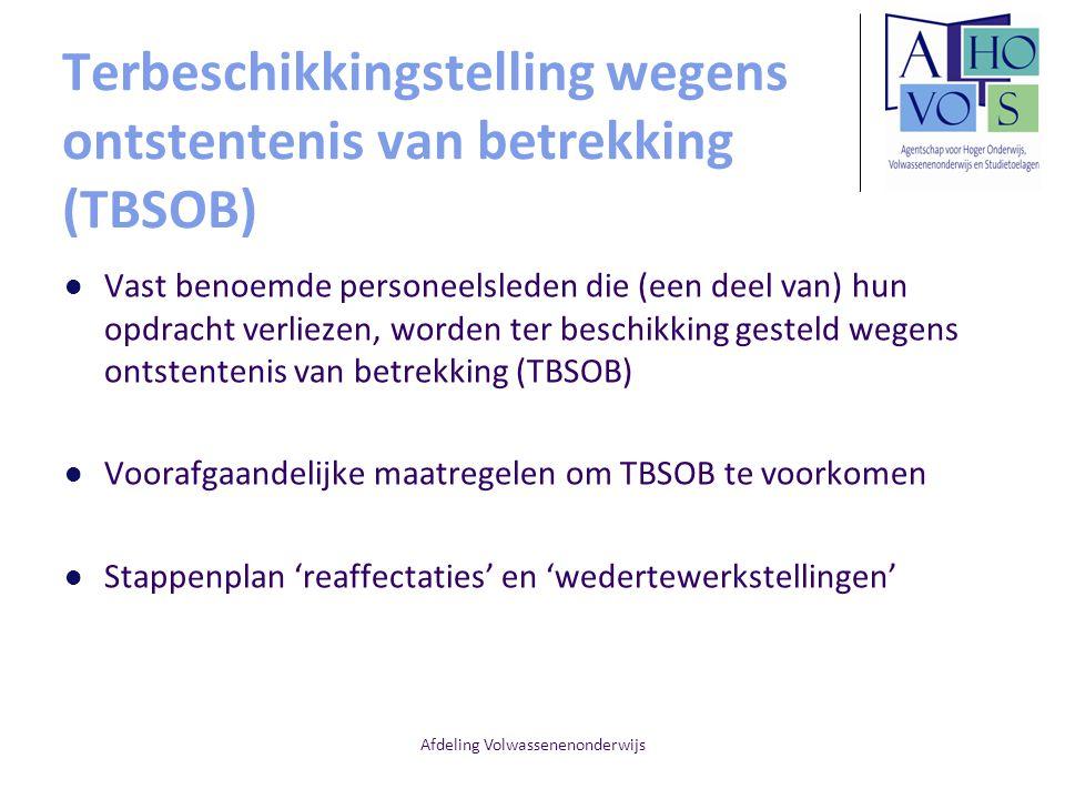Terbeschikkingstelling wegens ontstentenis van betrekking (TBSOB)
