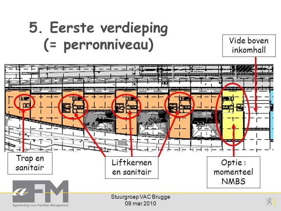 5. Eerste verdieping (= perronniveau)