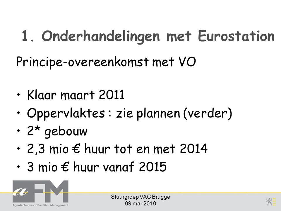1. Onderhandelingen met Eurostation